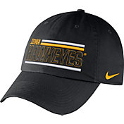 Nike Men's Iowa Hawkeyes Heritage86 Black Adjustable Hat