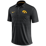 Nike Men's Iowa Hawkeyes Black Early Season Football Polo