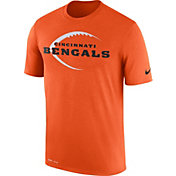 Nike Men's Cincinnati Bengals Legend Football Icon Performance Orange T-Shirt