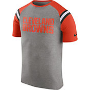 Nike Men's Cleveland Browns Enzyme Shoulder Stripe T-Shirt