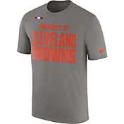 Nike Men's Cleveland Browns Property Of Grey T-Shirt