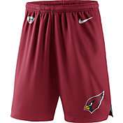 Nike Men's Arizona Cardinals Dry Knit Red Performance Shorts