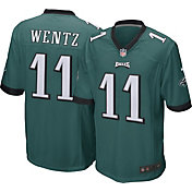 Nike Men's Home Game Jersey Philadelphia Eagles Carson Wentz #11