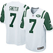 Nike Men's Away Game Jersey New York Jets Geno Smith #7