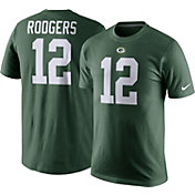 Nike Men's Green Bay Packers Aaron Rodgers #12 Pride Green T-Shirt