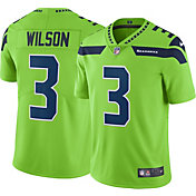 Nike Men's Color Rush Limited Jersey Seattle Seahawks Russell Wilson #3