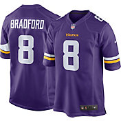 Nike Men's Home Game Jersey Minnesota Vikings Sam Bradford #8