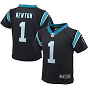 Nike Toddler Home Game Jersey Carolina Panthers Cam Newton #1