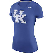 Nike Women's Kentucky Wildcats Blue Logo T-Shirt