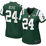Nike Women's New York Jets Darrelle Revis Home Game Jersey