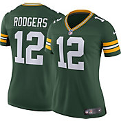 Nike Women's Home Limited Jersey Green Bay Packers Aaron Rodgers #12