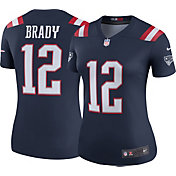 Nike Women's Color Rush Legend Jersey New England Patriots Tom Brady #12