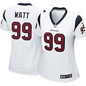 Nike Women's Away Game Jersey Houston Texans J.J. Watt #99