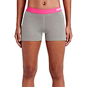Nike Women's 3'' Pro Cool Logo Graphic Shorts