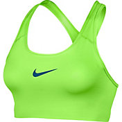 Nike Women's Pro Classic Swoosh Compression Graphic Sports Bra