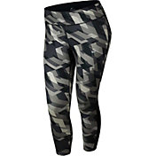 Nike Women's Plus Size Power Racer Geo Groove Printed Running Capris
