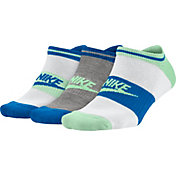 Nike Women's Sportswear No Show Socks 3 Pack