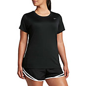 Nike Women's Plus Size Miler Running T-Shirt