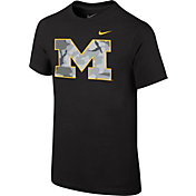Nike Youth Michigan Wolverines Black Project Fresh Camo Pack T-Shirt
