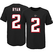 Nike Youth Atlanta Falcons Matt Ryan #2 Black T-Shirt