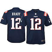 Nike Youth Color Rush Game Jersey New England Patriots Tom Brady #12