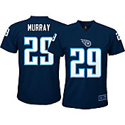 NFL Team Apparel Youth Tennessee Titans DeMarco Murray #29 Performance Navy T-Shirt