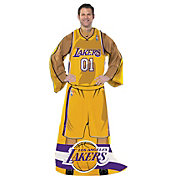 Northwest Los Angeles Lakers Uniform Full Body Comfy Throw