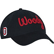 OSU Men's Ohio State Buckeyes The Coach Woody Slouch Black Adjustable Hat