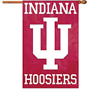 Party Animal Indiana Hoosiers Applique Banner Flag