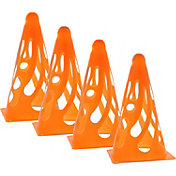 Primed 4-Pack Collapsible Training Cones