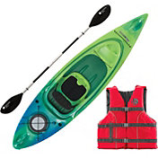 Perception Swifty Deluxe 95 Angler Kayak Package