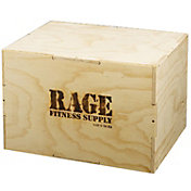 RAGE Wood Cube Plyo Box