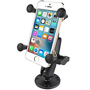 RAM Mounts Flat Surface Mount with Universal X-Grip Cell/iPhone Cradle