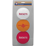 Rawlings Houston Rockets Softee Basketball 3-Ball Set