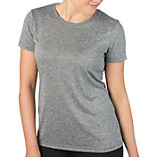 Reebok Women's Heathered Crewneck Vector T-Shirt