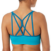 Reebok Women's Melange Crossback Sports Bra