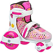 Roller Derby Girls' Fun Roll Adjustable Quad Roller Skates