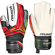 Reusch Junior Receptor RG Finger Support Soccer Goalkeeper Gloves