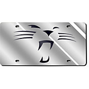 "Rico Carolina Panthers Silver ""Whiskers"" Laser Tag License Plate"