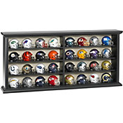 Riddell NFL 32-Piece Speed Pocket Helmet Wooden Display