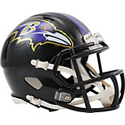 Riddell Baltimore Ravens Revolution Speed Mini Helmet