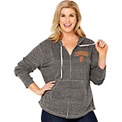 Soft As A Grape Women's San Francisco Giants Grey Hoodie - Plus Size