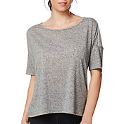 Shape Active Women's Cap Sleeve Boxy T-Shirt