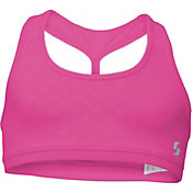Soffe Girls' Fashion Back Sports Bra