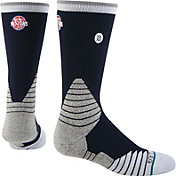Stance Detroit Pistons On Court Logo Crew Socks