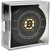 Sher-Wood Boston Bruins Official Game Puck