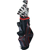 Top Flite 2017 XL 13-Piece Complete Set – (Graphite/Steel) – Black/Red