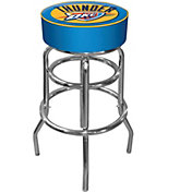 Trademark Games Oklahoma City Thunder Padded Bar Stool