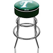 Trademark Games Tulane Green Wave Padded Bar Stool