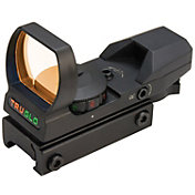 TRUGLO Dual Color Multi Reticle Red Dot Sight - Black